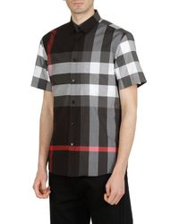 Burberry - Shirts Anthracite - Lyst