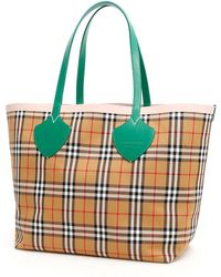 Burberry The Giant Reversible Tote Bag - Multicolour
