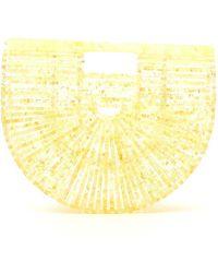 Cult Gaia Ark Tote Bag - Yellow
