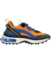 DSquared² Bubble Lace-up Sneakers - Blue