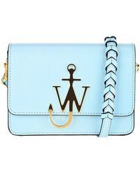 JW Anderson Anchor Logo Crossbody Bag - Blue