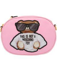 Moschino Teddy Belt Bag - Pink