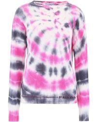 Prada Tie-dye Jumper - Pink