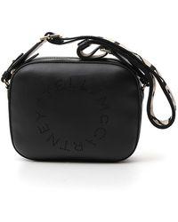Stella McCartney Logo Belt Bag - Black