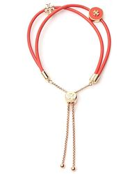 Tory Burch Kira Slider Bracelet - Orange
