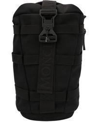 Moncler Logo Crossbody Bag - Black