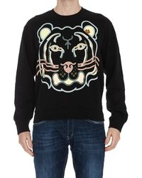 KENZO K-tiger Crewneck Sweatshirt - Black