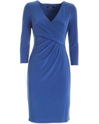 Polo Ralph Lauren V-neck Dress - Blue