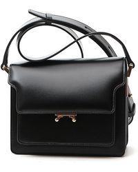 Marni Trunk Shoulder Bag - Black
