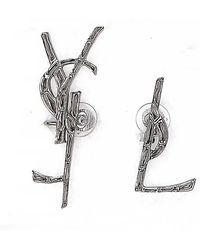 Saint Laurent - Ysl Earrings - Lyst