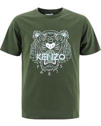 "KENZO ""tiger"" T-shirt - Green"