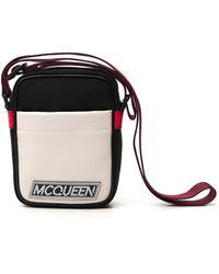 Alexander McQueen Logo Patch Crossbody Bag - Multicolor