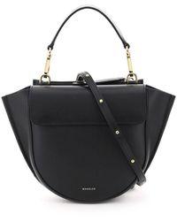 Wandler Hortensia Mini Leather Bag Os Leather - Black