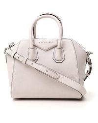 Givenchy Antigona Mini Tote Bag - White