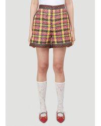 Gucci Tweed Shorts - Multicolour
