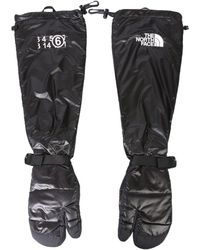 MM6 by Maison Martin Margiela Mm6 X Tnf Tabi Expedition Mitt Gloves - Black