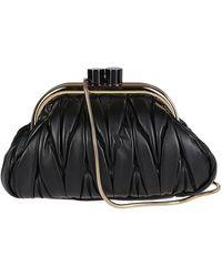 Miu Miu Belle Clutch Bag - Black