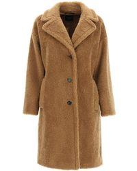 Weekend by Maxmara Salmone Fur-effect Coat - Multicolour