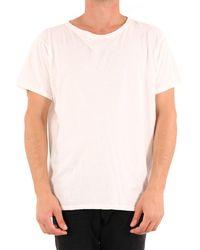 Greg Lauren - Printed T-shirt White - Lyst