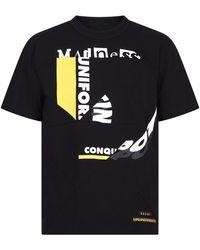 Sacai Graphic Printed T-shirt - Black