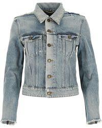 Saint Laurent Denim Jacket - Blue