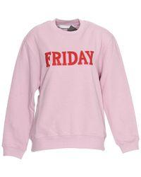 Alberta Ferretti - Friday Sweatshirt - Lyst