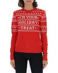 Philosophy Di Lorenzo Serafini Slogan Sweater - Red