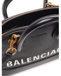 Balenciaga Ville Xxs Tote Bag - Black