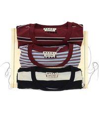 Marni Striped Three-pack T-shirts - Multicolor