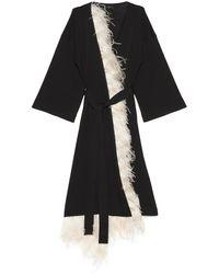 Alanui Embassy Kimono - Black
