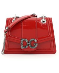 Dolce & Gabbana Dg Amore Bag - Red