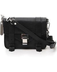 Proenza Schouler Ps1 Mini Crossbody Bag - Black