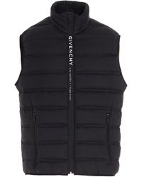 Givenchy Address Padded Vest - Black