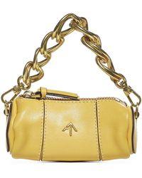 MANU Atelier Xx Micro Cylinder Shoulder Bag - Yellow