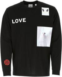 Burberry Long Sleeve T-shirt - Black