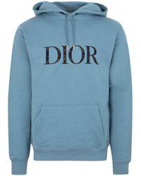 Dior Cotton Sweatshirt Top - Blue