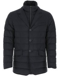 Herno Quilted Down Jacket - Black