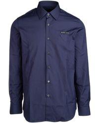 Prada Logo Shirt - Blue