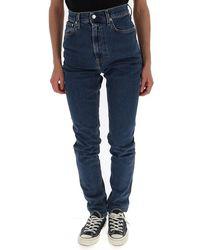 Helmut Lang Slim Fit Jeans - Blue