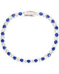 Swarovski Tennis Deluxe Bracelet - Blue