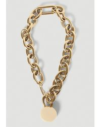 Jil Sander Chain Necklace - Metallic