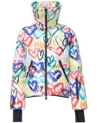 3 MONCLER GRENOBLE Printed Zip Up Jacket - Multicolour