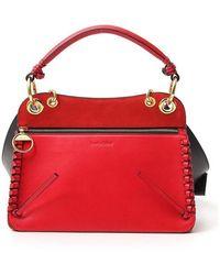 See By Chloé Top Handle Shoulder Bag - Red