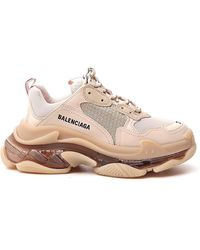 Balenciaga Triple S Sneaker - Natural