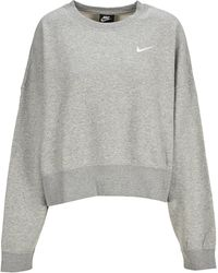 Nike Sportswear Essential Sweatshirt - Grey