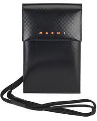 Marni Logo Phone Case - Black