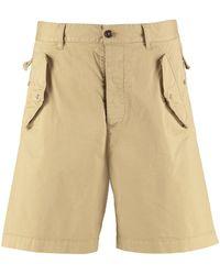 DSquared² Flap Pocket Cargo Shorts - Natural