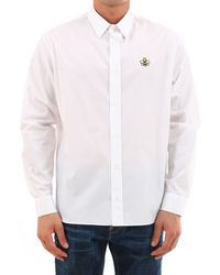 Dior Homme X Kaws Bee Patch Shirt - White