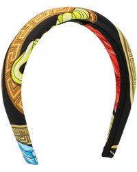 Versace Graphic Print Headband - Multicolor