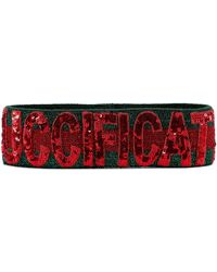 Gucci Fication Headband - Red